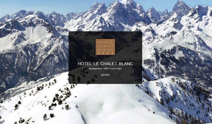 hotel le chalet blanc